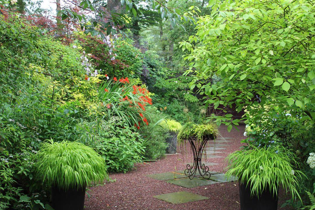 Jardin retiré à Bagnoles-de-l'Orne