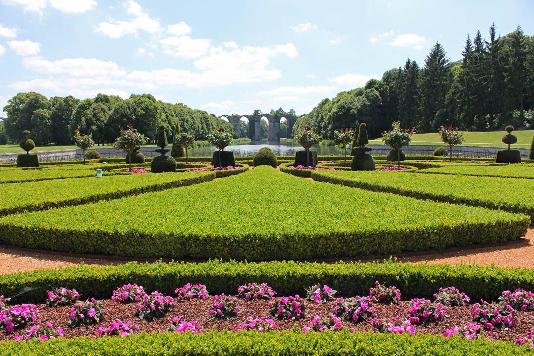 Jardins à la française du Château de Maintenon