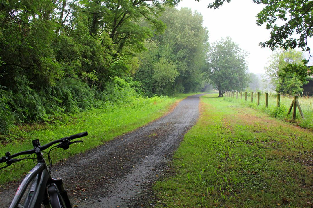 La véloscénie, itinéraire vélo entre Paris et le Mont Saint Michel