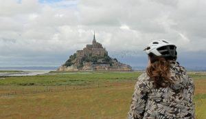 Vélo au Mont Saint Michel