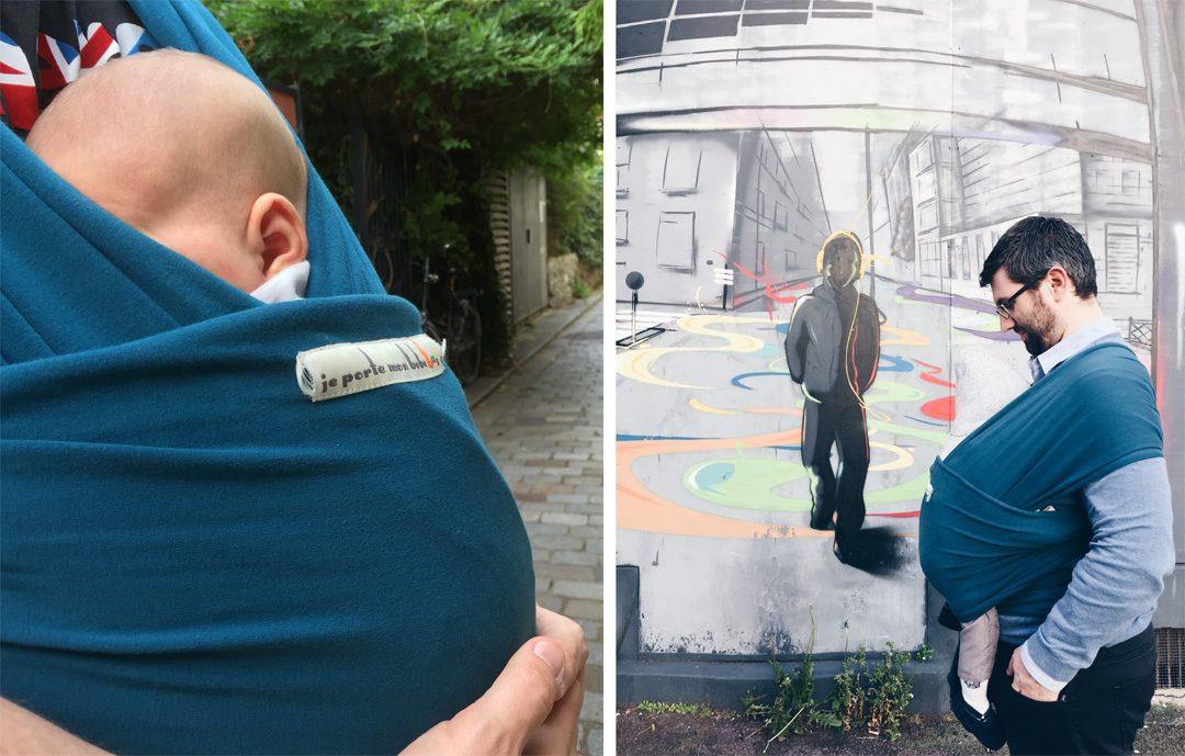Voyager avec bébé, portage bébé | www.happyusbook.com