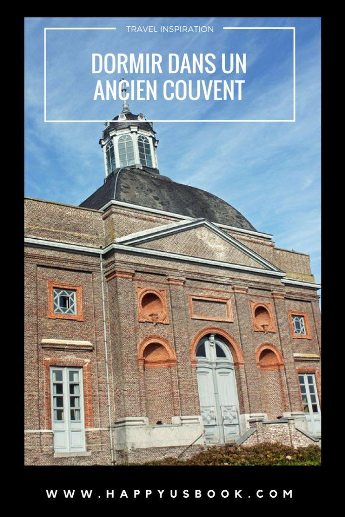 Dormir dans un ancien couvent en Belgique | www.happyusbook.com