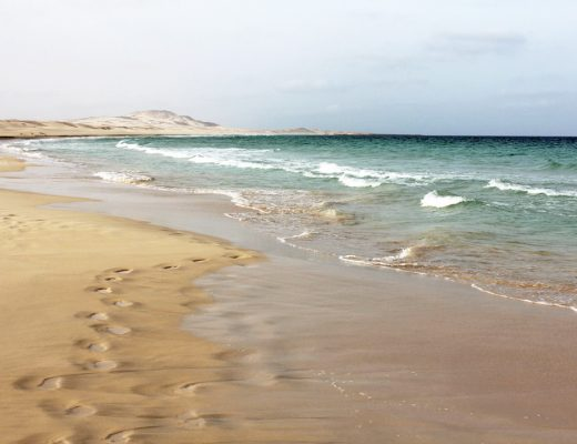 Plage de Boa Vista au Cap Vert