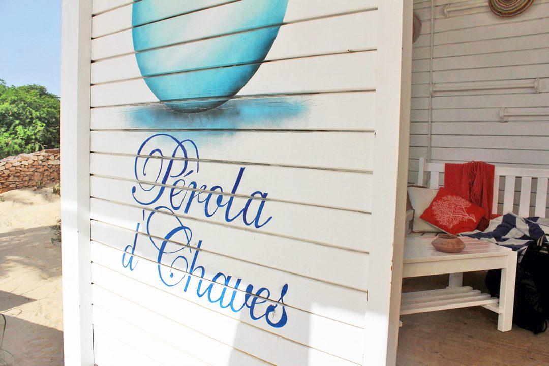 Restaurant Perola d'Chaves sur l'île de Boa Vista au Cap Vert