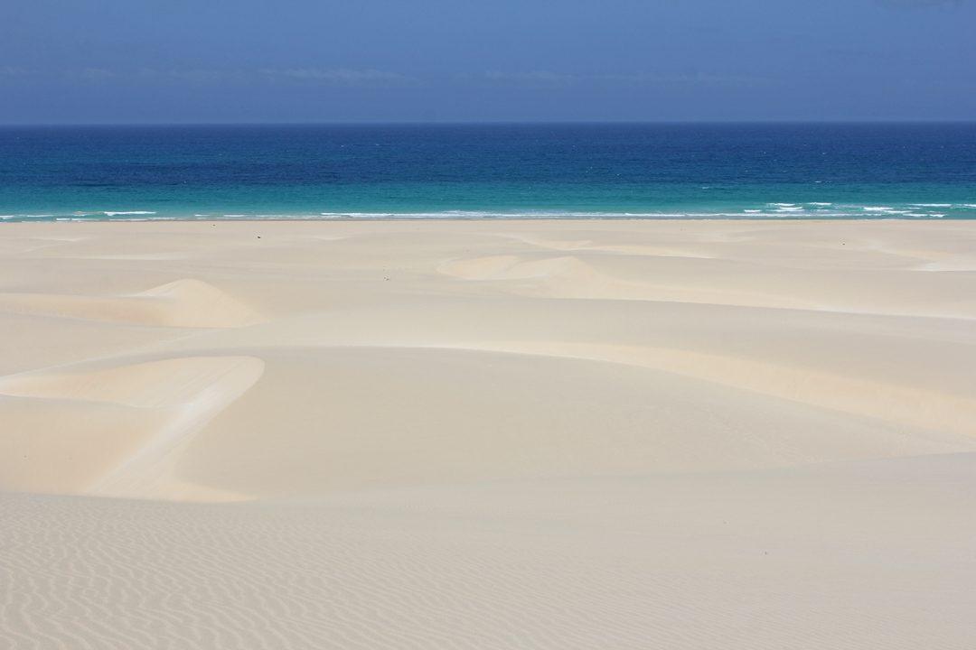 Plages paradisiaques de Boa Vista au Cap Vert