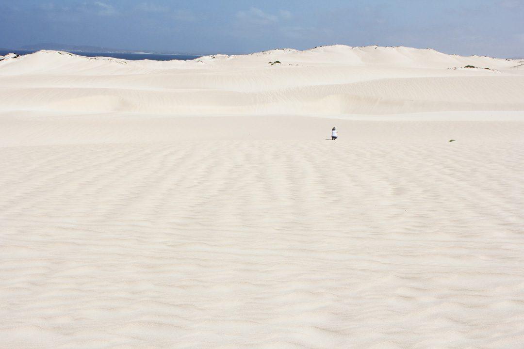 Dunes de Chaves au Cap Vert