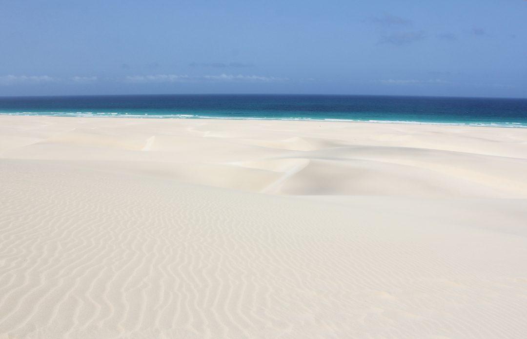 Plages de Chaves au Cap Vert