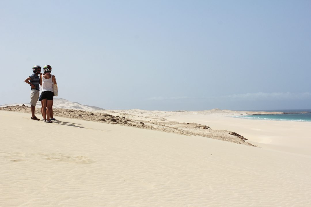 Balade en quad dans les dunes