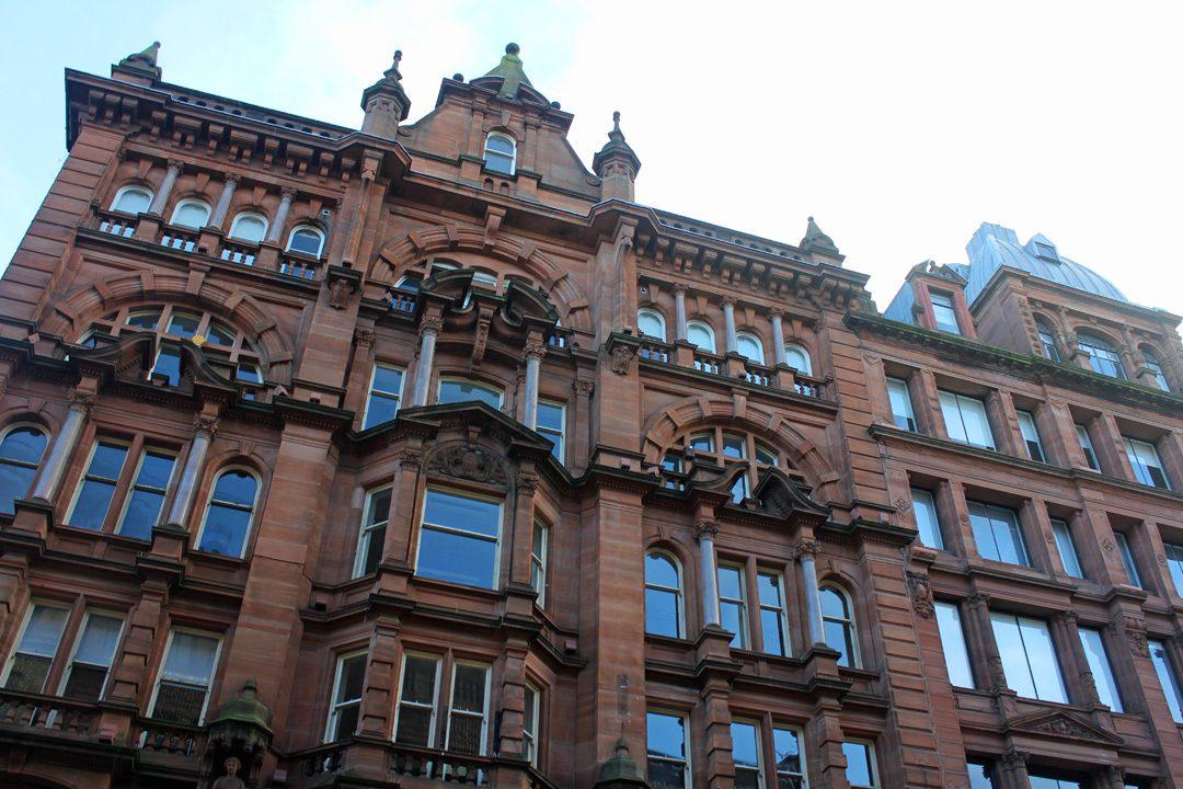 Architecture à Glasgow en Ecosse