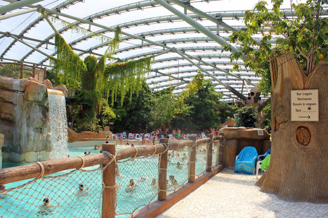 Aqua Mundo au Center Parcs du Lac d'Ailette