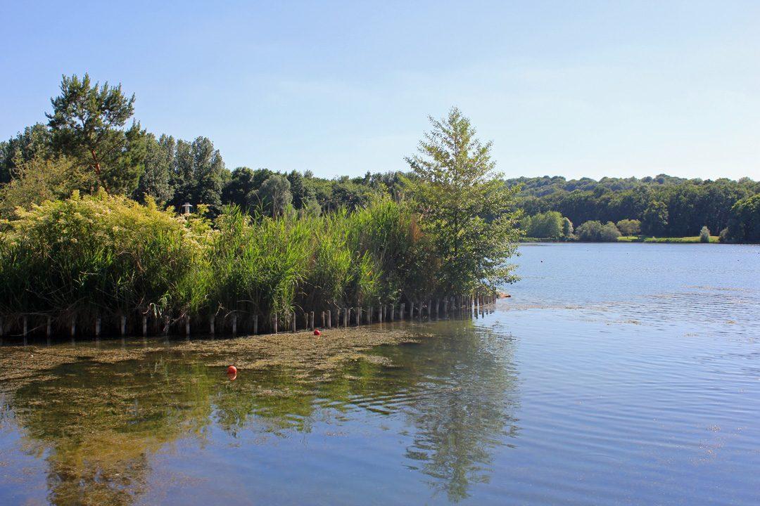 Lac d'Ailette dans l'Aisne