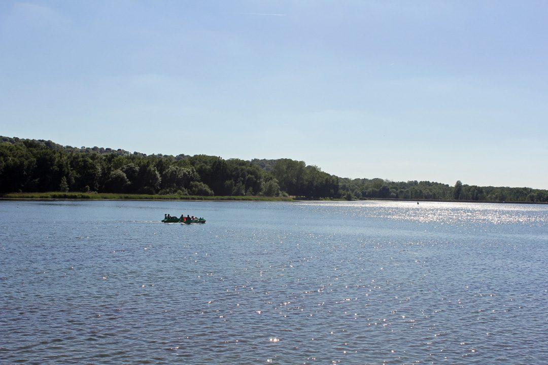 Paysage du Center Parcs du Lac d'Ailette