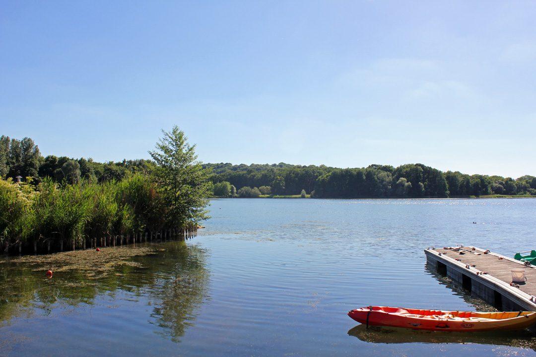 Canoë sur le Lac d'Ailette