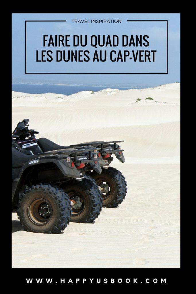 Faire du quad dans les dunes au Cap-Vert | www.happyusbook.com