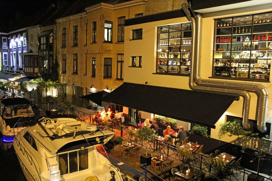 Balade nocturne à Gand en Belgique