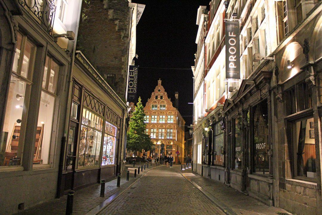 Balade nocturne à Gand