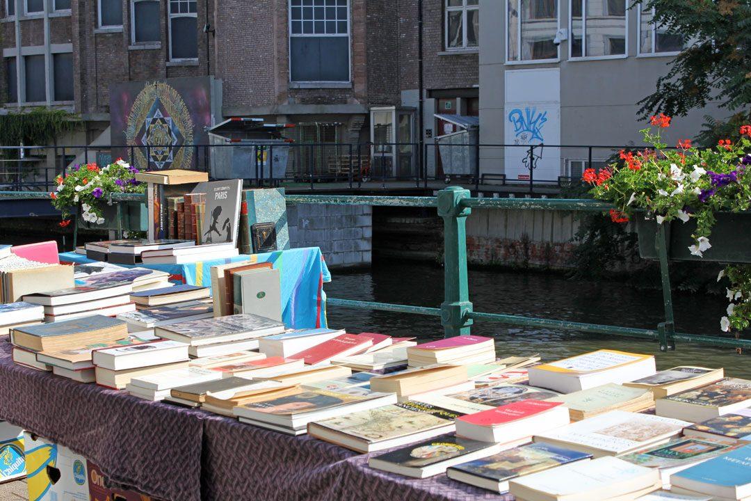 Marché aux livres de Gand