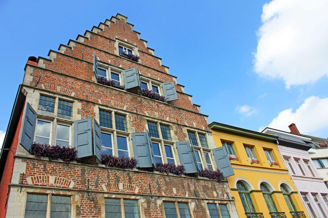 Architecture à Gand en Belgique