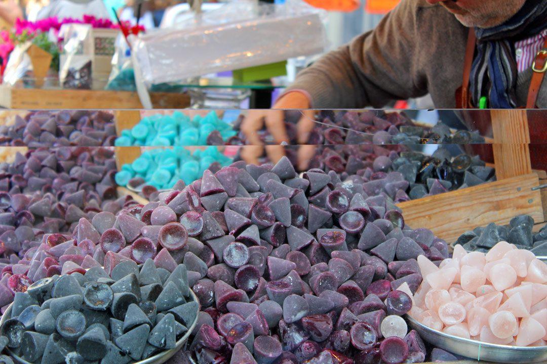 Cuberdons, les bonbons spécialité de Gand en Belgique