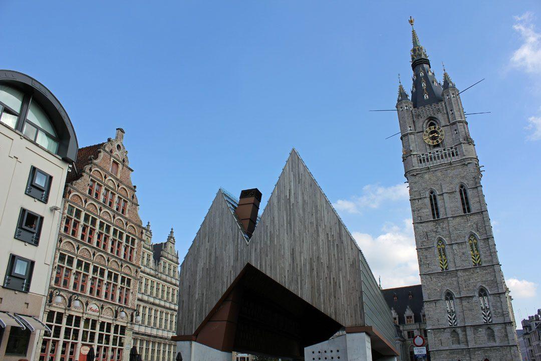 Monuments historiques à visiter à Gand