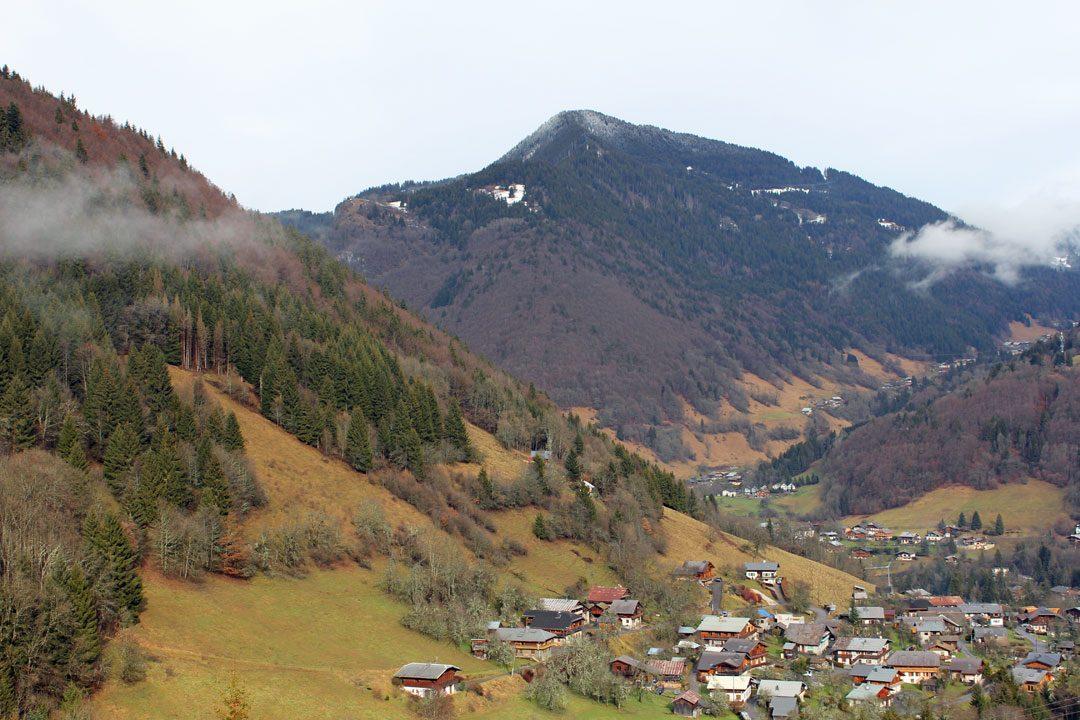 Village de Saint Jean d'Aulps en Haute-Savoie