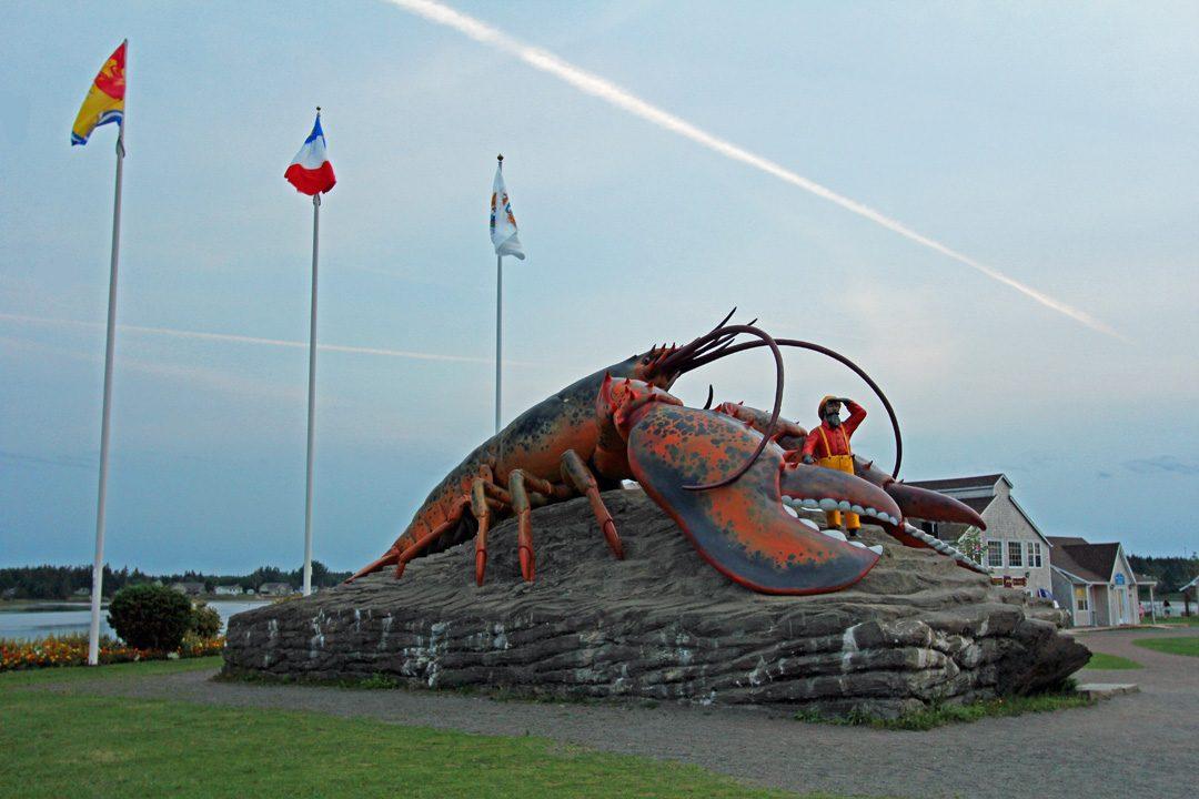 Le plus gros homard du monde au Canada