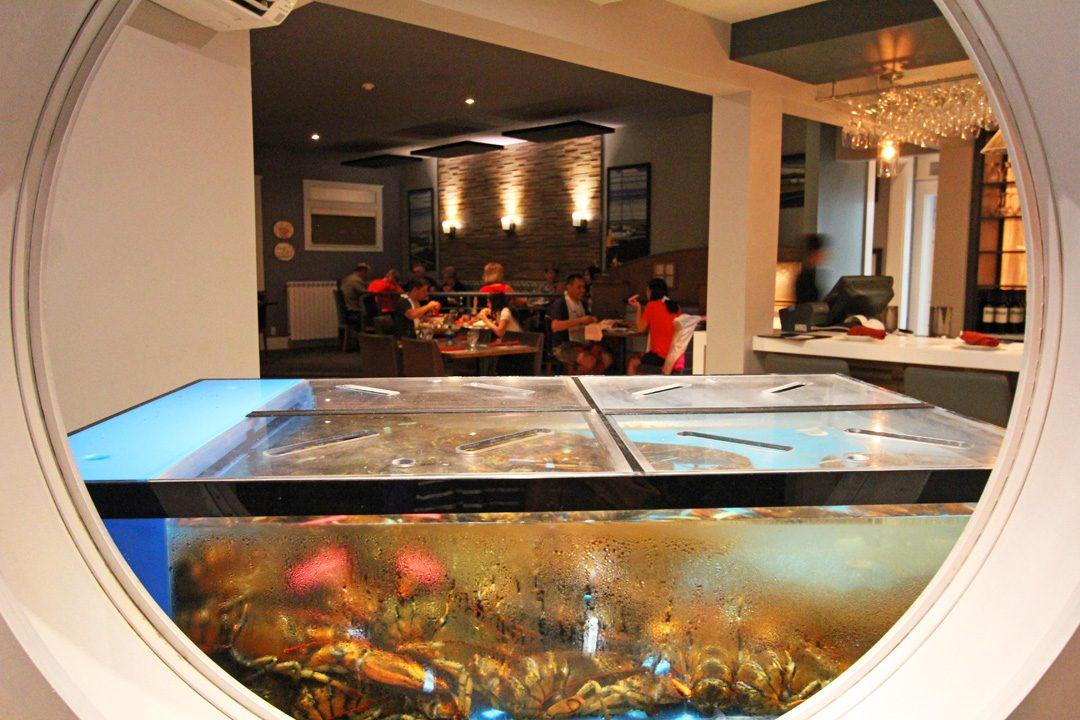 Restaurant de homard à Shédiac au Nouveau-Brunswick