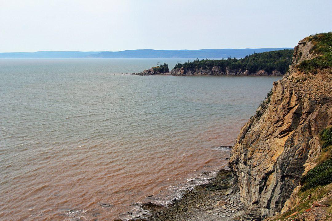 Baie de Fundy au Canada
