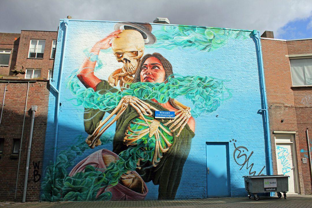 Street-art à Eindhoven