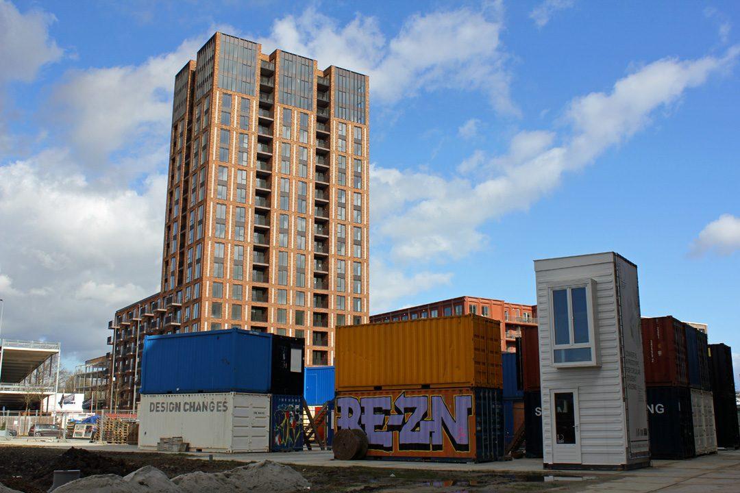Quartier ancienne usine Philips réhabilité Strijp S à Eindhoven