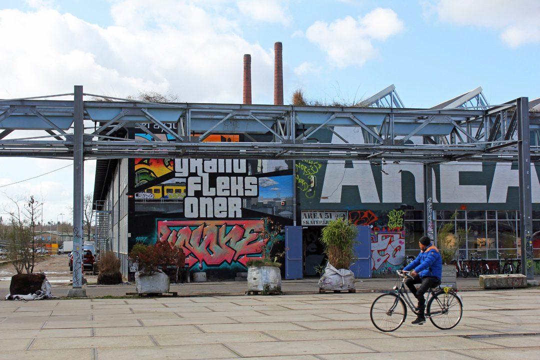 Quartier branché Strijp S à Eindhoven