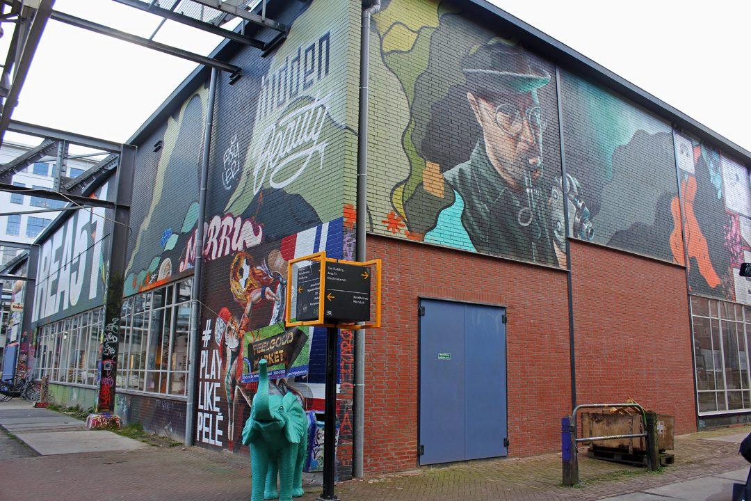 Street-art au Strijp S à Eindhoven