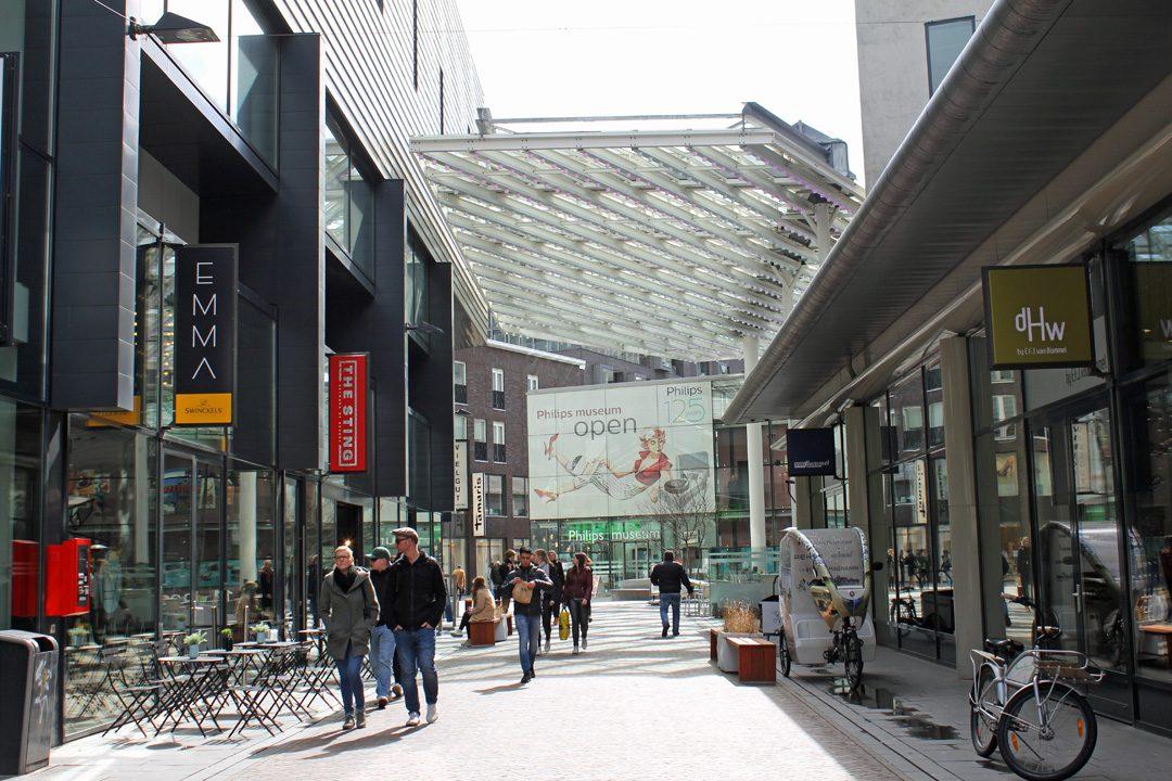 Shopping à Eindhoven aux Pays-Bas