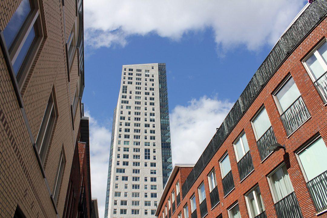 Architecture moderne à Eindhoven