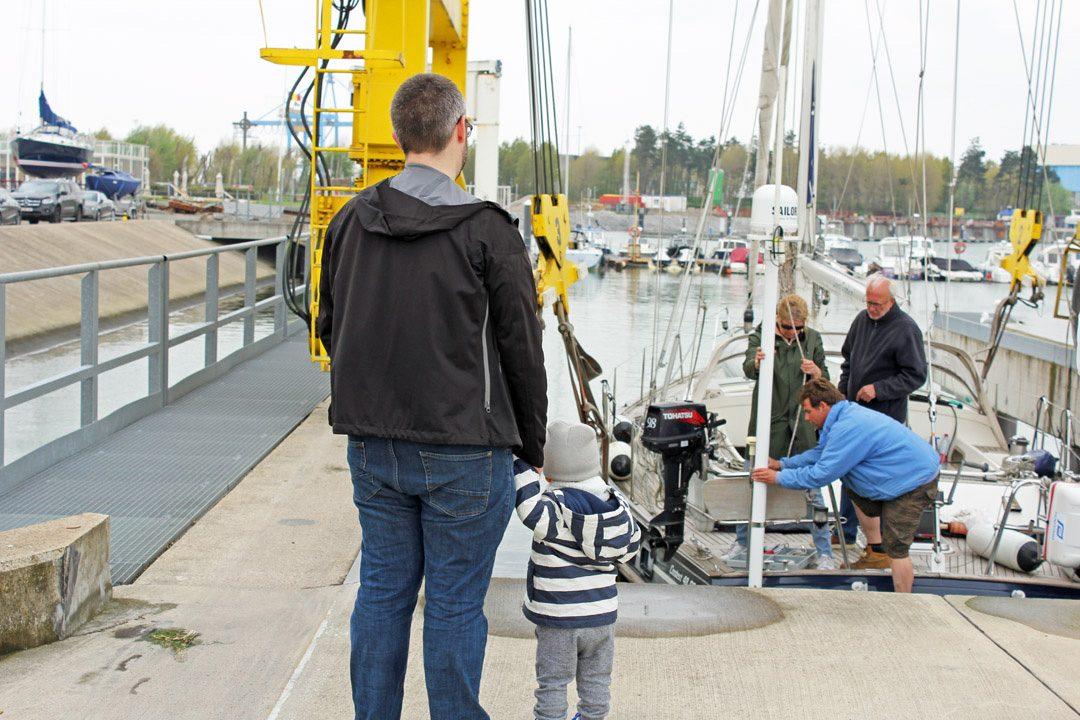 Port de Zeebruges en Belgique