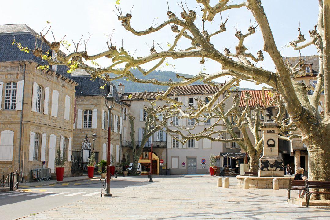 Balade à Millau dans l'Aveyron
