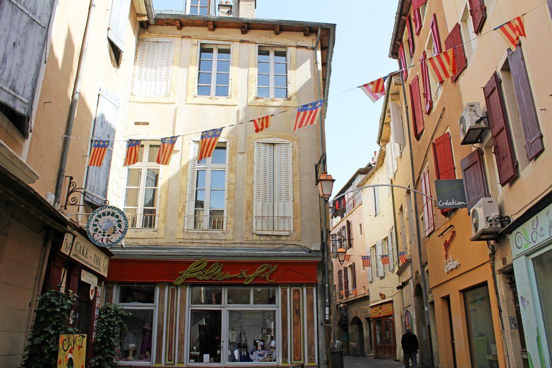 Centre ville de Millau