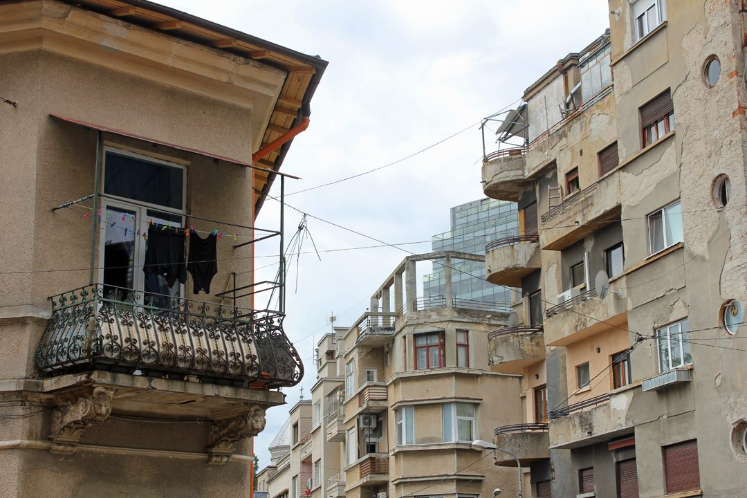 Le quartier populaire arménien de Bucarest en Roumanie