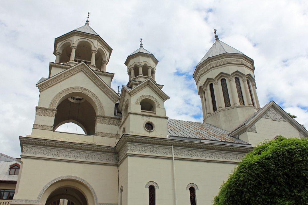 Eglise arménienne de Bucarest en Roumanie