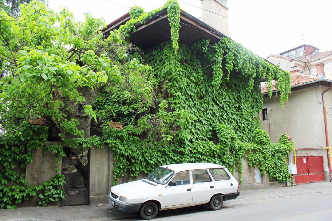 Quartier arménien de Bucarest en Roumanie