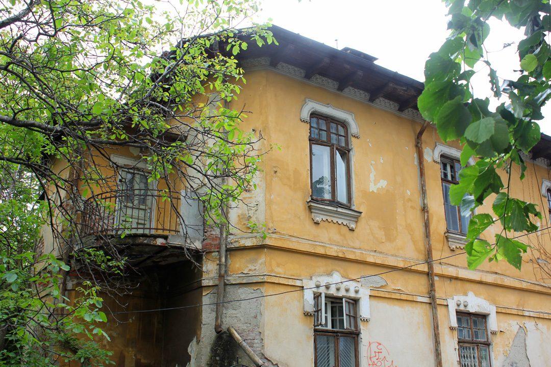 Vieille maison dans le quartier arménien de Bucarest