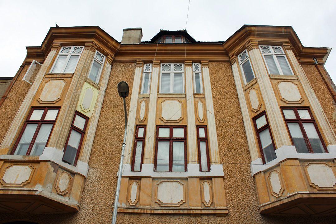 Bâtiment vintage dans le quartier arménien de Bucarest