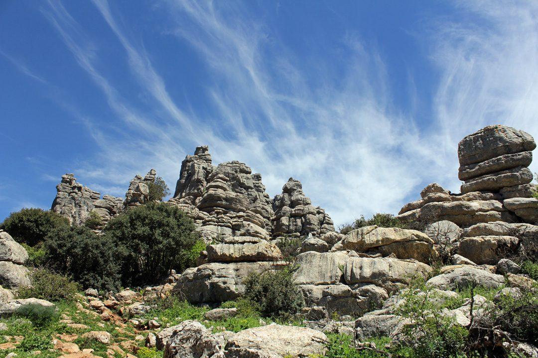 Parc Naturel El Torcal en Espagne