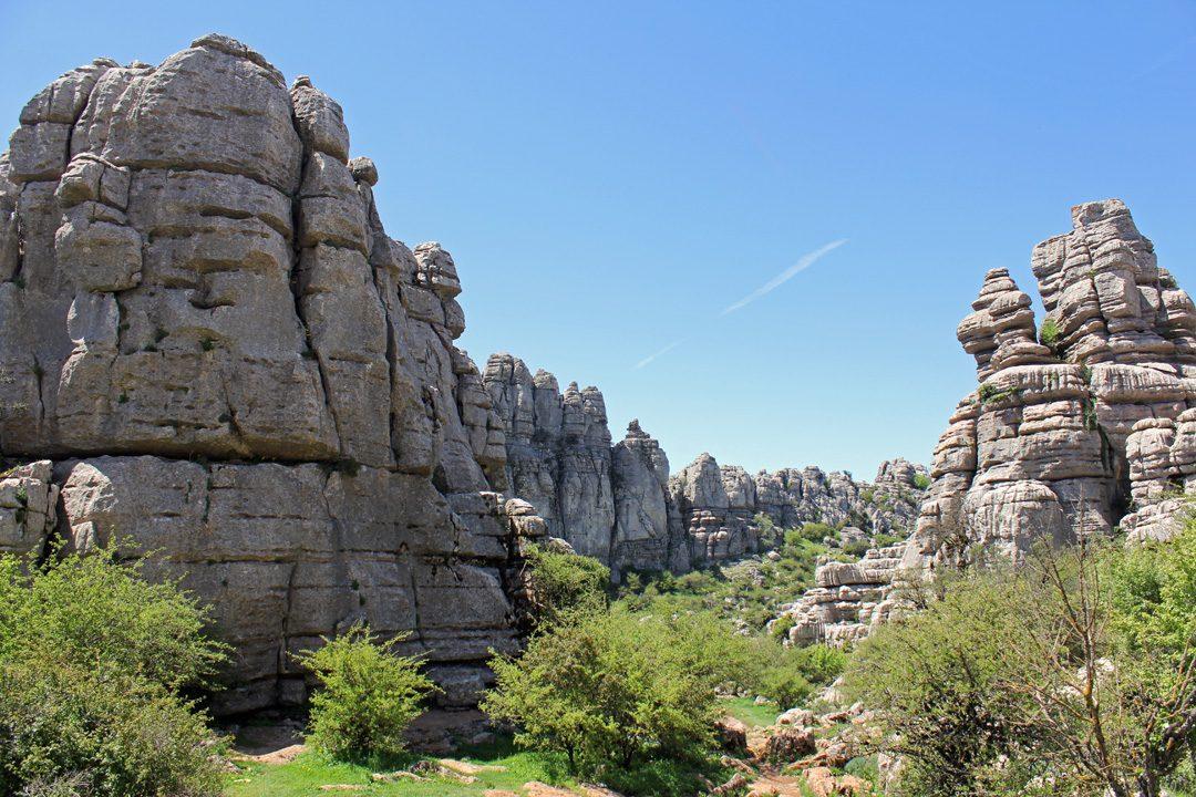 Le Parc Naturel El Torcal en Espagne