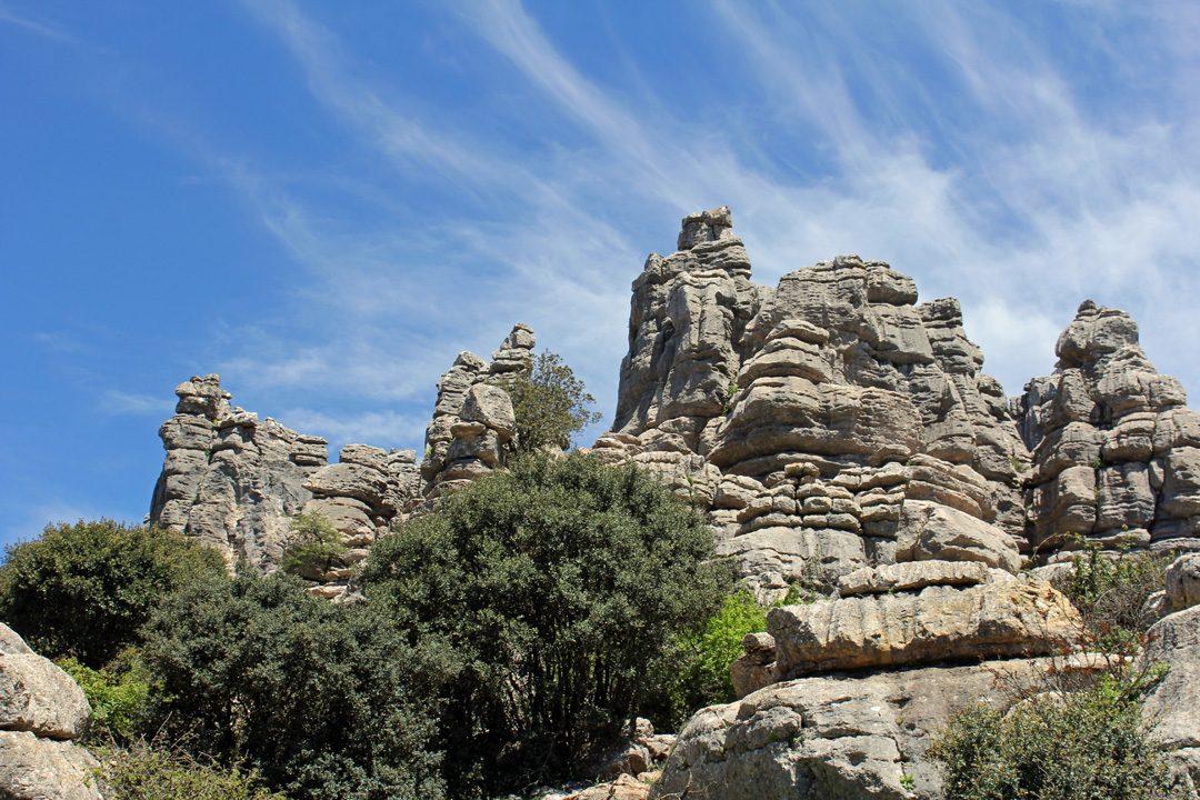 Randonner au Parc Naturel El Torcal en Espagne