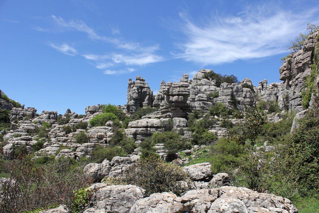 Randonner dans le Parc Naturel El Torcal en Andalousie