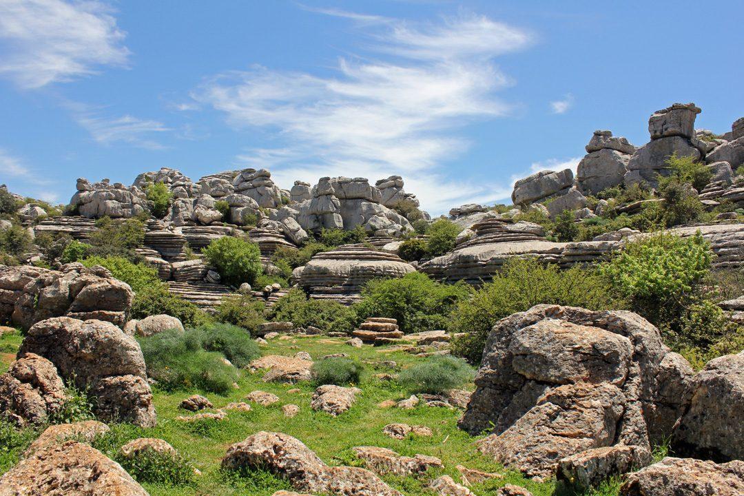 Le Parc Naturel Unesco El Torcal en Espagne