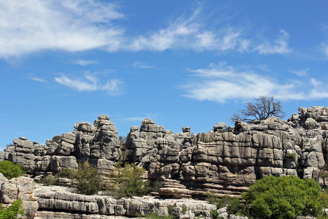 Parc Naturel El Torcal en Andalousie