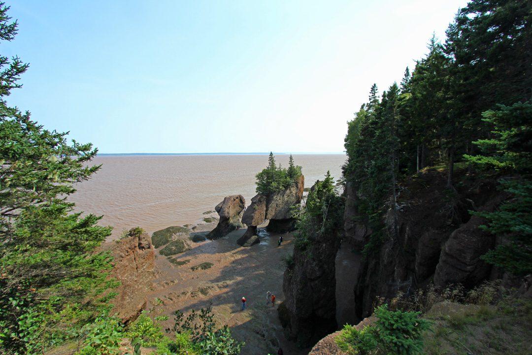 Découvrir les plus hautes marées au monde