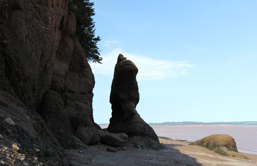 Découvrir les plus hautes marées au monde et les rochers Hopewell au Nouveau-Brunswick au Canada